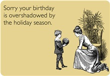 Birthday Overshadowed