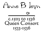 Anne Boleyn Black