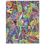 Abstract Art Drawing #P0530