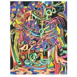 Anatomy Art Drawing #P0160