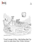 Stuck in a New Yorker Cartoon