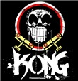 KONG SKULL Black T-Shirt