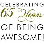 Celebrating 65 Years Drinkware