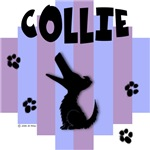 Collie Blue/Purple Stripe