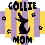 Collie Mom - Yellow/Purple Stripe
