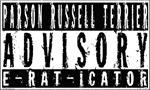 Parson Russell Terrier Advisory E-RAT-ICATOR-White