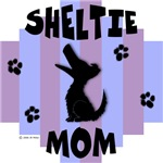 Sheltie Mom - Blue/Purple Stripe