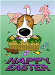 Pembroke Welsh Corgi - Happy Easter