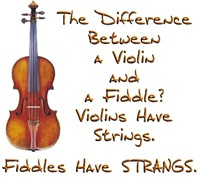 Fiddle vs Violin