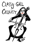 Classy Gal Cellist