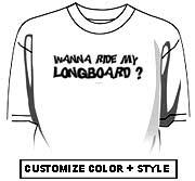 Wanna ride my longboard?