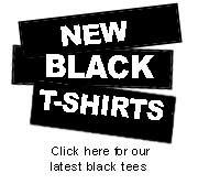 Pickup Line Black T-shirts