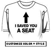 I saved you a seat