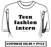 Teen Fashion Intern