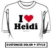I heart Heidi