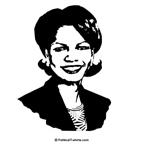 Condi Rice Face