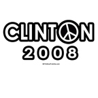 Clinton 2008: Vote for peace
