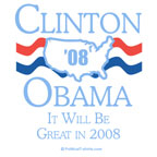 Clinton / Obama: Great in 2008