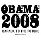 Obama 2008: Barack to the future