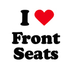 I love front seats