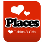 I Love Places T-shirts & I Love Places T-shirt