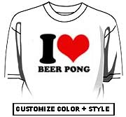 I Love Beer Pong