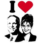 I Love Mccain Palin