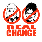 ANTI-MCCAIN/PALIN: REAL CHANGE