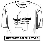 Mississippi - Come and feel better about your own