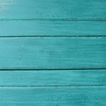 Distressed Teal Planks