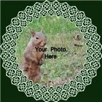Celtic Knot Photo Trim Green