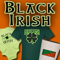 Black Irish T-shirts