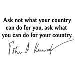 JFK Inaugural Speech Quote