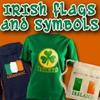 IRISH FLAGS AND SYMBOLS OF IRELAND