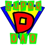 Super Dad Badge Design