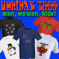 Holiday Apparel! Tees, Hoodies, for Kids and Adult