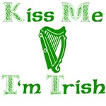 Kiss Me I'm Irish Trish
