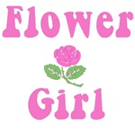 Flower Girl in Pink on T-shirts & Gifts