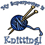 My Superpower is Knitting Gifts for Knitters