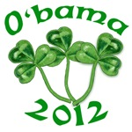 Irish O'Bama 2012 T-shirts, Mugs, Buttons