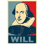 William Shakespeare Pop Art  Apparel