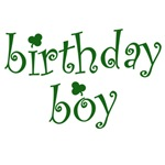 St. Patricks Day Birthday Boy Tshirts