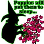 Wizard of Oz Poppies Tshirts