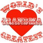 World's Greatest Grandma Tshirt or Mug