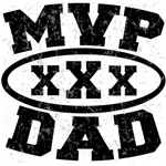 MVP DAD Father's Day Tshirts