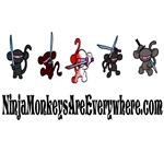 Ninja Monkeys Are Everywhere!