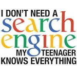 I don't need a search engine - Teenager
