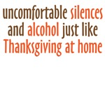 uncomfortable silences and alcohol