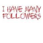 I have many followers