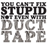 you can't fix stupid not even with duct tape